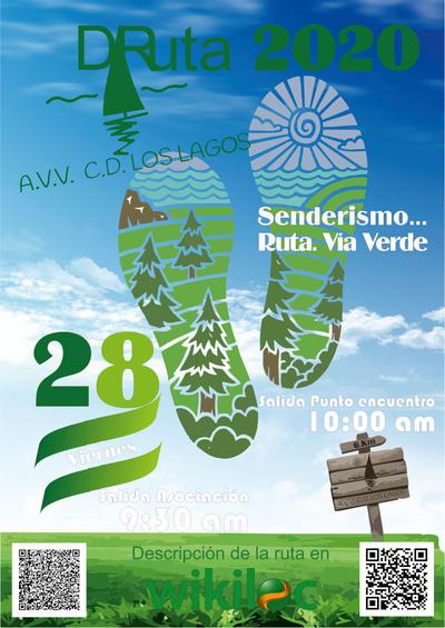 Via Verde - A.VV. CD. Los Lagos del Serrano 1ª Fase.