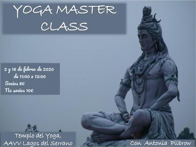 Master Class de Yoga