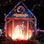 Árbol de Navidad y portal de Belén